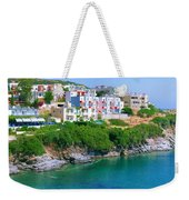 Fishing Village Bali Weekender Tote Bag