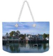 Fishing Village Weekender Tote Bag