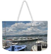 Fishingboats Weekender Tote Bag