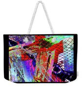 Fishnet Fantasy, A Collage Between Maine And Florida. Weekender Tote Bag