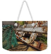 Fishnets And Planks Weekender Tote Bag