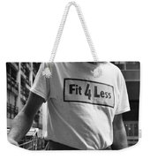 Fit Four Less Weekender Tote Bag