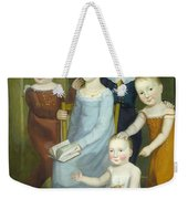 Five Children Of The Budd Family Weekender Tote Bag