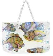 Five Fading Fish Weekender Tote Bag