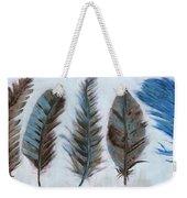 Five Feathers Weekender Tote Bag