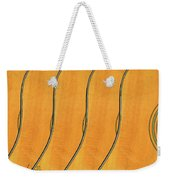 Five Fender Guitars Weekender Tote Bag