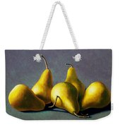 Five Golden Pears Weekender Tote Bag
