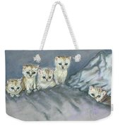 Five Kitties Weekender Tote Bag