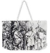 Five Lansquenets And An Oriental On Horseback 1495 Weekender Tote Bag
