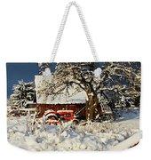 Five Mile Winter's Barn #9862 Weekender Tote Bag