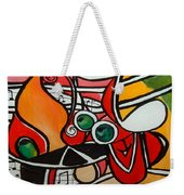 Five O' Clock With Picasso Weekender Tote Bag