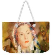 Five Octaves - Tribute To Yma Sumac Weekender Tote Bag