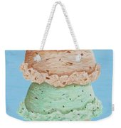 Five Scoop Ice Cream Cone Weekender Tote Bag