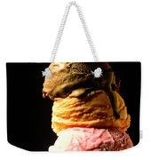 Five Scoops Of Ice Cream Weekender Tote Bag