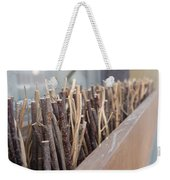 Five, Six Pick Up Sticks Weekender Tote Bag
