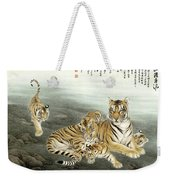 Five Tigers Weekender Tote Bag