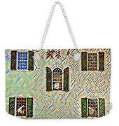 Five Windows Watercolor Weekender Tote Bag