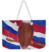 Flag And Eagle Weekender Tote Bag