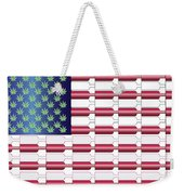Flag Bottles3 Weekender Tote Bag