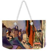 Flag Decorated Street 1906 Weekender Tote Bag