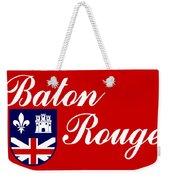 Flag Of Baton Rouge Weekender Tote Bag