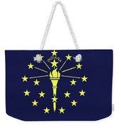 Flag Of Indiana Wall Weekender Tote Bag