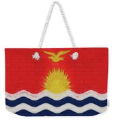 Flag Of Kiribati Wall Weekender Tote Bag