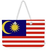 Flag Of Malaysia. Weekender Tote Bag