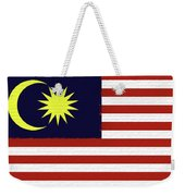 Flag Of Malaysia Wall. Weekender Tote Bag