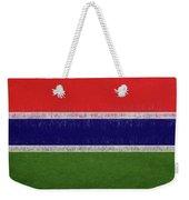Flag Of The Gambia Grunge. Weekender Tote Bag
