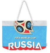 Flag Russia World Cup Weekender Tote Bag