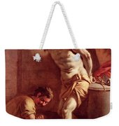 Flagellation Of Christ Weekender Tote Bag by Pietro Bardellini