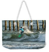 Flagler Beach Surf Day Weekender Tote Bag