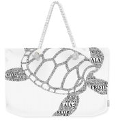 Flagler Beach Word Art Weekender Tote Bag