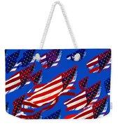 Flags American Weekender Tote Bag