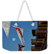 Flags At The Palace Of Governors Weekender Tote Bag