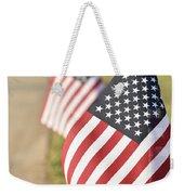 Flags Line Up Weekender Tote Bag