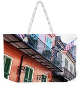 Flags On The Balcony Weekender Tote Bag