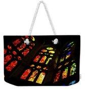 Flamboyant Stained Glass Window Weekender Tote Bag