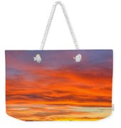 Flame On In Widescape Weekender Tote Bag