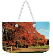 Flame Trees Weekender Tote Bag