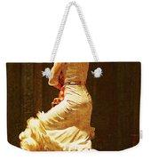 Flamenco Dancer #20 - The White Dress Weekender Tote Bag