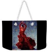 Flamenco Senorita Fuerza Weekender Tote Bag