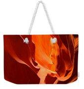 Flames In The Walls Of Antelope Weekender Tote Bag