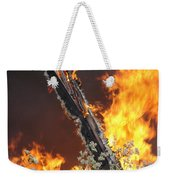 Flames Of Age Weekender Tote Bag
