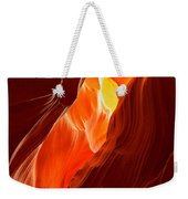 Flames Under Arizona  Weekender Tote Bag