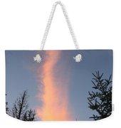 Flaming Clouds Weekender Tote Bag
