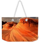 Flaming Dragon Weekender Tote Bag