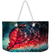 Flaming Fall Color Weekender Tote Bag