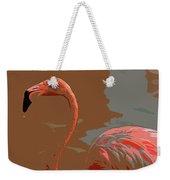 Flaming Flamingo-d  Weekender Tote Bag
